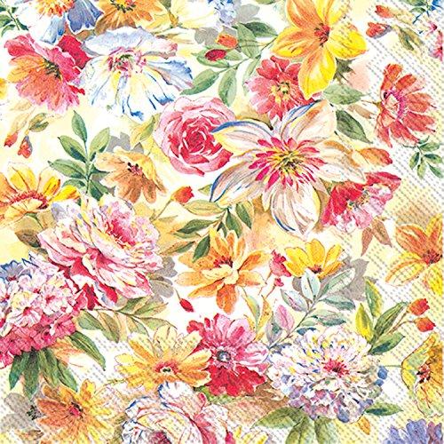 Celebrate The Home floral 3-lagig Servietten, aus Papier, 20-count, Letizia Dinner Servietten Floral