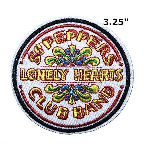 (Outlander Outdoor Marke Anwendung The Beatles Band Musik Cosplay Badge gesticktes Eisen oder aufgesetzte Aufnäher Patch)