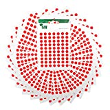 2,100 Easy Peel Self Adhesive Sticky Dots from Ivy - 8mm - Matt Red [232731]