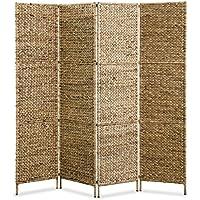 Festnight- Biombo Separador de Ambientes 4 Paneles 160x160 cm - Muebles de Dormitorio precios