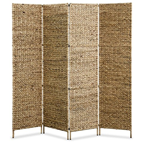 Festnight- Biombo Separador de Ambientes 4 Paneles 160x160 cm