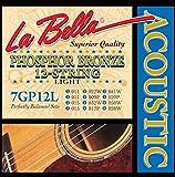Labella 7GP12L Cordes pour Guitare