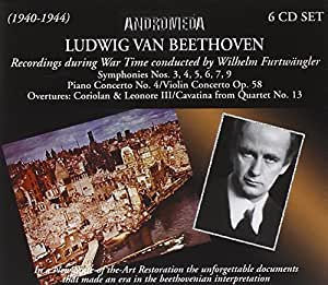 Beethoven: War Time Recordings by Andromeda (2006-06-26)