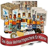 Un cadeau de Noël parfait pour ceux qui aiment la bière! y compris les emballages cadeaux et les délicieux plats d'accompagnement.    Vous réalisez votre propre visite de la bière à travers les délices de la bière en Bavière. Célébrez Noël dans tou...