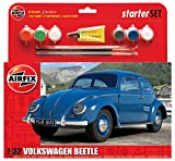 Airfix 1:32 Scale VW Beetle Starter Gift Set, Multicolor