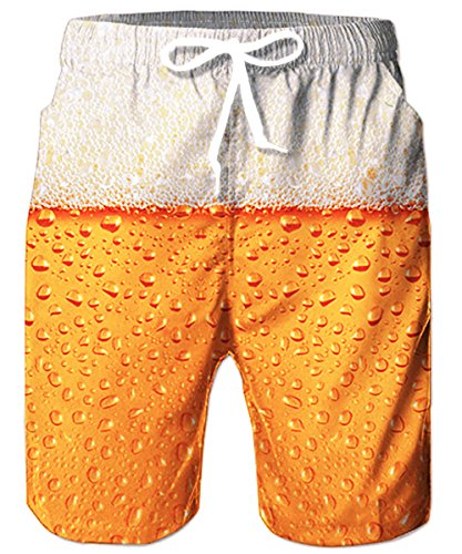 TUONROAD Costume da Bagno Uomo, Pantaloncini Uomo Estate Nuotare Tronchi Veloce Spiaggia asciutta S-XL