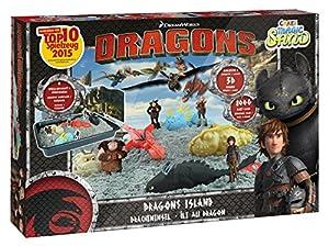 CRAZE 54292-Magic Arena Dragons Island Caja. Aprox. 800g Arena en 5Colores Diferentes