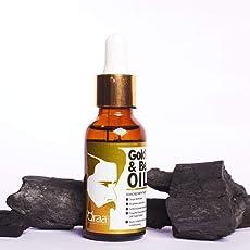 Qraa 24K Gold Face and Beard Oil, 30ml