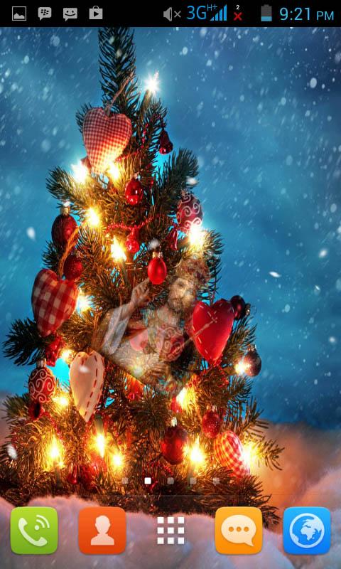 christmas tree live wallpaper free appstore