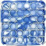 Bubble Sensory Fidget Toy Autism Special Needs Stress Reliever, Pop Bubble Sensory Fidget Toy (Camouflage-Square)