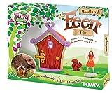 TOMY My Fairy Garden Die Waldland Feen Tür - Outdoor Spielzeug mit Fee Figur für Kinder ab 4 Jahre - draußen Spielen & Interaktion mit der Natur fördern