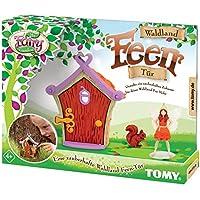 MY FAIRY GARDEN Tomy Puerta del País de Bosque de Hadas/Outdoor Juguete con Hada Figura para niños a Partir de 4años–Exterior Jugar & Interacción con la Naturaleza Fomentar