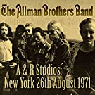 A&R Studios New York 26th August 1971