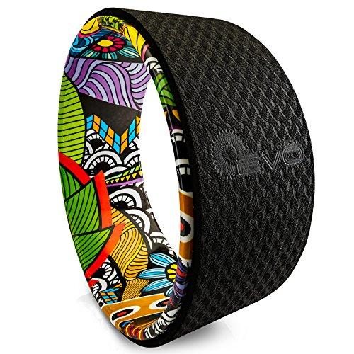 Yoga EVO 13 '' Yoga Wheel - Starke und bequeme Dharma Yoga Prop für Inversionen und Backbends (Bali)
