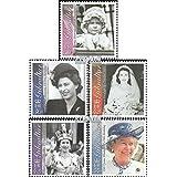 Gibraltar 966-970 (completa.edición.) 2001 cumpleaños (sellos para los coleccionistas)