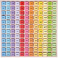 Bigjigs Toys Educational Wooden Times Table Tray