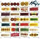 Pesce biscotti–Originale Erro per capelli, fermaglio–di capelli in Fondenti morsetto, Barette, faschings Fermaglio come idea regalo per donne con coda di cavallo by ERRO-Design GmbH
