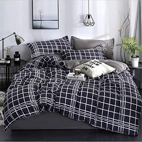 SHJIA Bettwäsche Set Nordic Tröster Tagesdecke Doppel Set Bettbezug Königin König Erwachsene Bettwäsche Set G 150x200cm -