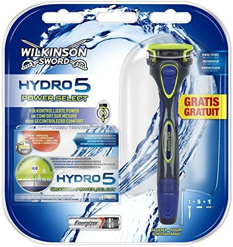 Wilkinson Sword Hydro 5 Power Select, 5 Klingen mit Gratis Rasierer