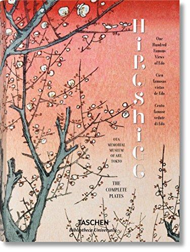 Hiroshige. Cien Famosas Vistas De Edo - Edición Bilingüe (Bibliotheca Universalis) por Melanie Trede