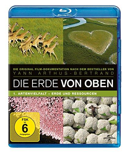 Die Erde von Oben - TV Serie Teil 1: Artenvielfalt, Erde und Ressourcen [Blu-ray] (Erde-tv-serie)