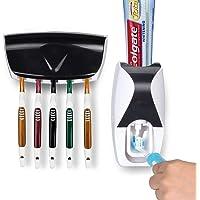 AOI Distributeur Automatique de Dentifrice, Support de Brosse à Dents, Outil de Presser Le Tube de Dentifrice-Couleur…
