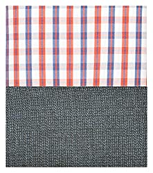 Siyarams Mens Shirt and Trousers Fabrics (Multi-Coloured and Blue )