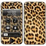 "Apple iPhone 4s Skin "" LEOPARD 2 "" Sticker Handy Schutzfolie Aufkleber + Wallpaper fuer Cover"