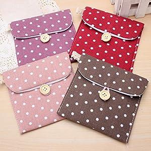 easyshop Sanitary Napkin Pad Bag Lady Girl Portable Storage Bag Organizer Purse Holder Case