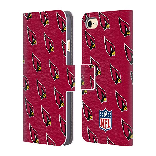 Ufficiale NFL Marmo 2017/18 Arizona Cardinals Cover a portafoglio in pelle per Apple iPhone 4 / 4S Pattern