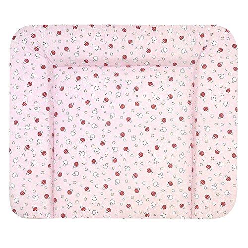 alvi-matelas-a-langer-molly-revetement-gluckspilz-rose-70-x-85-cm
