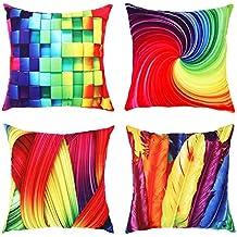 Cuscini Divano Colorati.Cuscini Colorati Per Divani 4 Stelle E Piu Amazon It