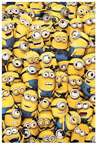 Image of Army of Minions Fleece Blanket Bed Throw