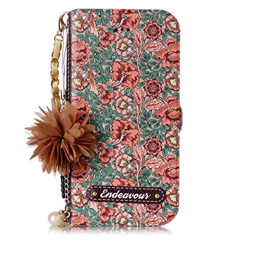 Custodia-in-pelle-per-iPhone-6-plusiPhone-6S-plus-Ysimee-Flip-Cover-Colorato-Fiore-Cristallo-Borsa-Catena-Fiore-Pendente-Caso-delle-donne-Custodia-a-portafoglio-in-pelle-PU-premium-Custodia-a-conchigl