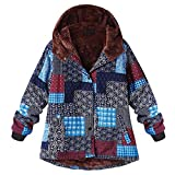 Warm Winterjacke, Fleece Dicker Mantel Reißverschluss Mantel Damen Jacke Parka Outwear Strickjacke Mantel Plüschjacke Steppjacke Outwear Cardigan Parka Trench Coat Strickjacken LANSKIRT