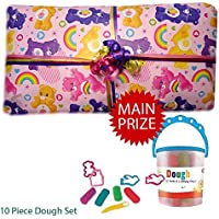 Pass the Parcel Ready Made Party Game - Care Bears - 8 to 16 layer options available