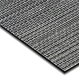 casa pura® Indoor- und Outdoor-Bodenbelag Genua   kunstvoll gewebt   als Teppich oder Läufer   40 Größen (60x250cm)