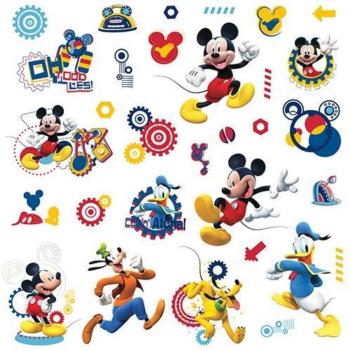 RoomMates Pegatina de Pared con diseño de Mickey Mouse Clubhouse - Mickey Mouse Clubhouse Capers Peel...