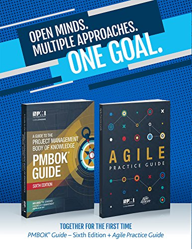 Open Minds Multiple Approaches One Goal : Pack en 2 volumes : A Guide to the Project Management Body of Knowledge PMBOK Guide ; Agile Practice Guide