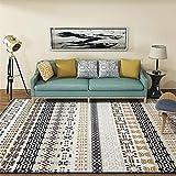 HIUGHJ Tapis Fashion Dornier Carpets ForLiving Tapis de Sol et Tapis pour la Chambre à Coucher Table Basse Tapis de Sol Tapis de Style National