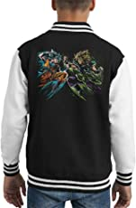 Dragon Ball Goku Vs Broly Kid's Varsity Jacket