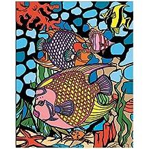 "Colorvelvet Sistema de Dibujo para Colorear Peces"", ..."