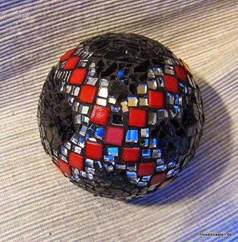 handgefertigte-rosenkugel-schwarz-rot-spiegel-11-cm-mosaikkugel-dekokugel