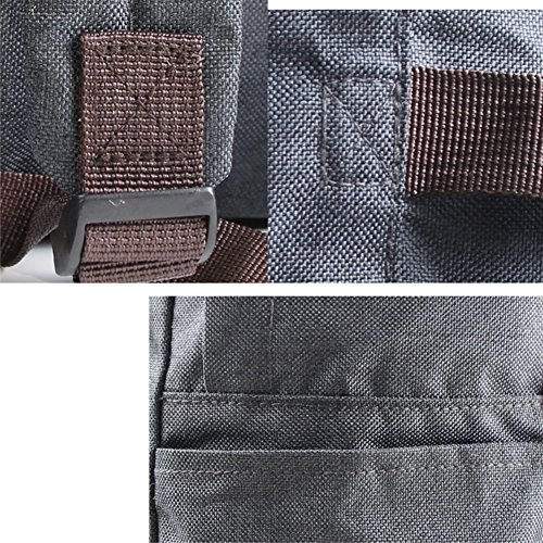 donne e uomini nuova borsa da viaggio impermeabile pieghevole zaino multifunzione grande capacità borse di stoccaggio, Black Black