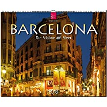 BARCELONA: Original Stürtz-Kalender 2018 - Großformat-Kalender 60 x 48 cm