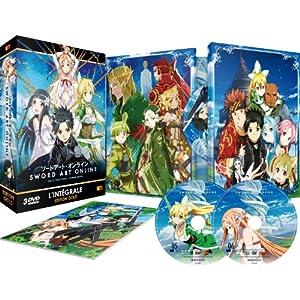 Sword Art Online - Arc 2 (ALO) - Edition Gold (3 DVD + Livret) [Édition Gold]