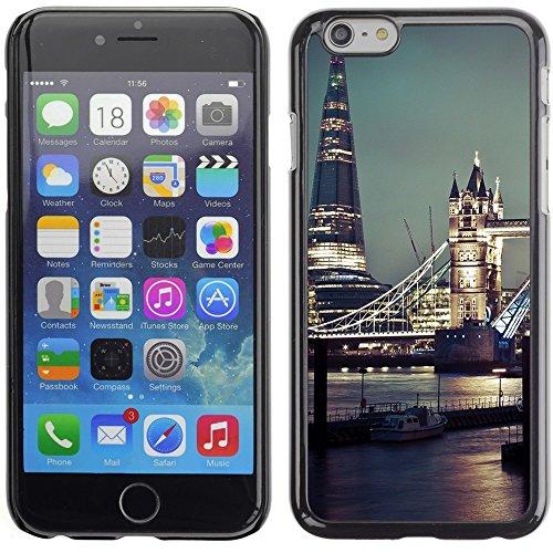 Graphic4You London Postkarte Ansichtskarte Design Harte Hülle Case Tasche Schutzhülle für Apple iPhone 6 Plus / 6S Plus Design #4