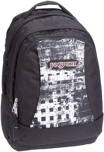 JanSport Rucksack Essence, black/ white acidic, 46x31x23 cm, 31 Liter, TPZ5_7NW (Jansport Schulrucksack)
