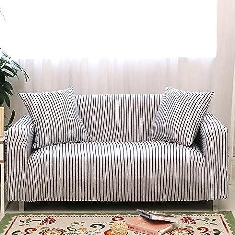 Haute élastique Housse de canapé Slipcover Coton universel antidérapant Full Cover Protection pour canapé, 90*140
