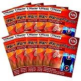 10er Set Wärmepflaster bis 12h selbstklebend, Wärmekissen Pflaster-Wärme Wärmepads Rückenwärmer Wellnesprodukt für Massage & Entspannung
